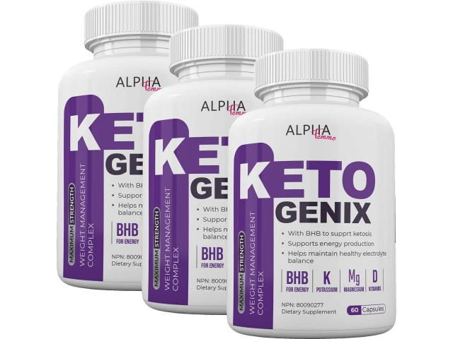 How to consume Alpha Femme Keto Genix?