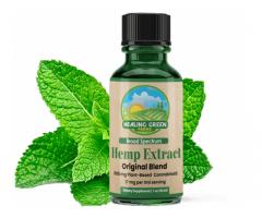 Healing Green CBD Oil
