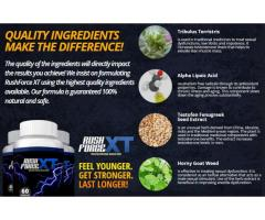 Rush Force XT reviews- Boost testosterone level & performance