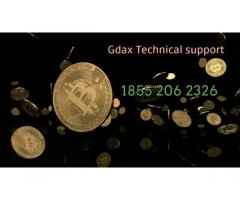Gdax customer service Number 1855 206 2326.