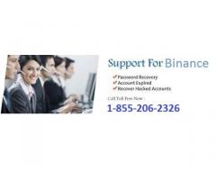 Binance technical support number 1855 206 2326 (USA).