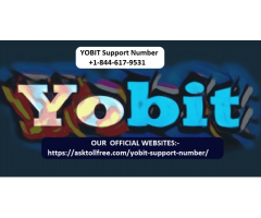 Call Us +1-844-617-9531 Yobit Support Number