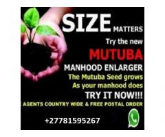 MUTUBA SEED AND OIL PENIS ENLARGEMENT +27781595267