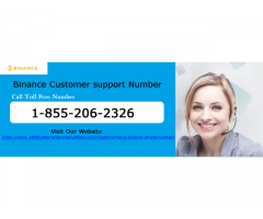 Get Help on Binance Customer Support Number 1-855-206-2326.