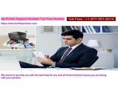 Hp Printer Support Toll Free Number 8773010214