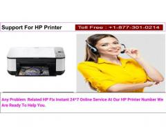 Support For HP Printer Choice Your Perfect Number 8773010214